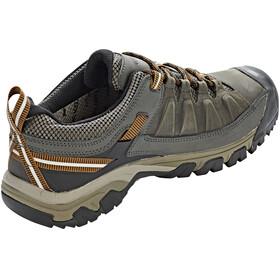Keen M's Targhee III WP Shoes Black Olive/Golden Brown